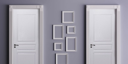 3 Panel Exterior Door