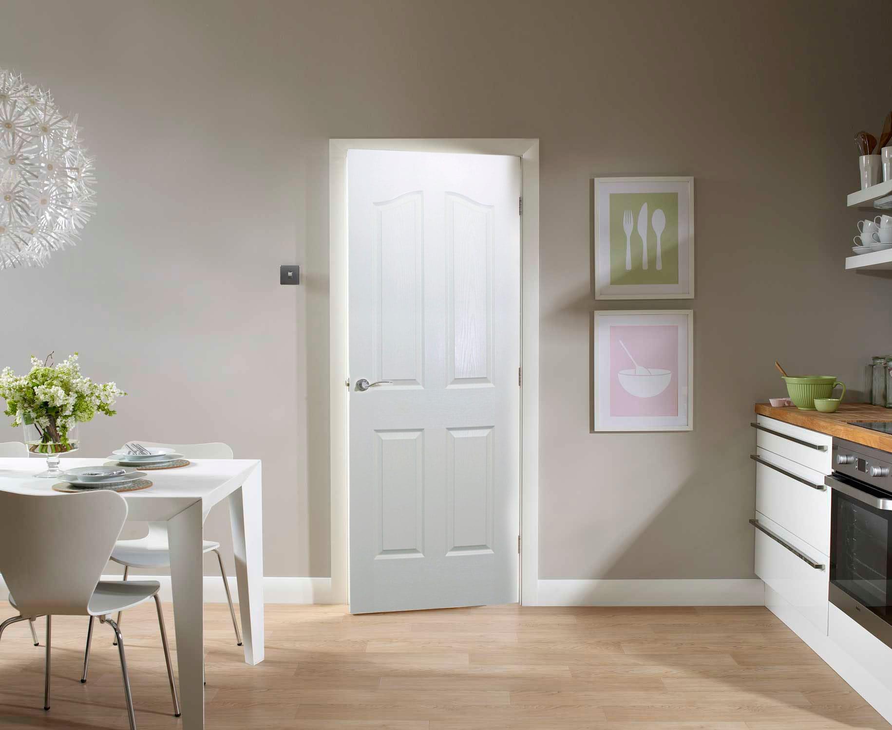 4 Panel Exterior Door Quality Doors