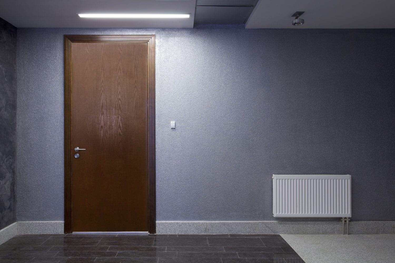 plain door. Plain Exterior Door